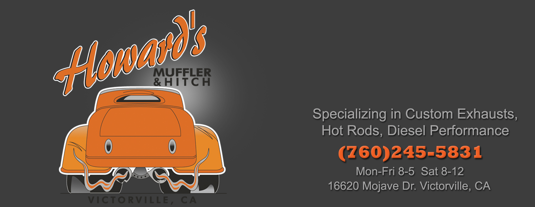 Howards Muffler and Hitch, Victorville, California